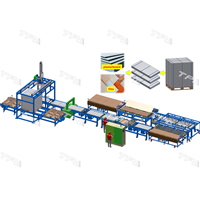 Packaging & Palletizing system (tiles, plasterboard)