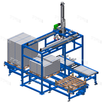 Palletizing system (tiles, plasterboard..)