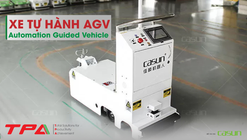 Xe tự hành agv - Automation Guided Vehicle